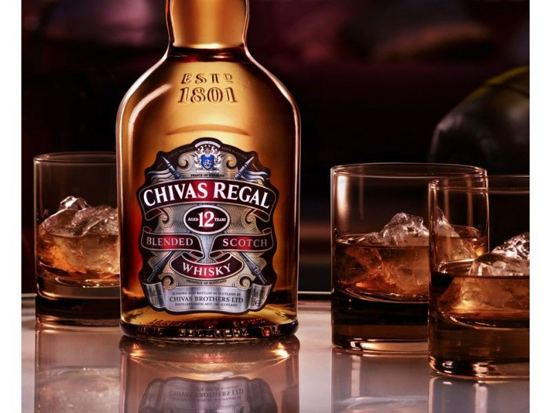 Whiskey Chivas Regal 12